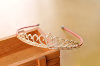 Christmas Hotsale Girl Crown Girl Shinny Crystal Tiara Crown Girl Party Hair Accessories Wholesale 100pcs/Lot DHL Free