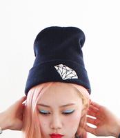 Fashion 2014 Diamond Beanies Hat Winter Knitting Caps Beanies Skullies for Men Women Toucas De Inverno Gorros Bonnets HTZZM-423