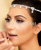 Free Shipping Fashion Romantic Wedding Bride Hair Accessories Hair Jewelry Hairwear Tiara Headbands Wholesale Drop Shippin