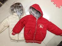 Retail   Brand  2014  New   fashion  spring/autumn children's  coat  long  sleeve  zipper  plaid  pattern  hooded  boy's  jacket