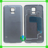 30pcs/lot For Samsung GALAXY S5 I9600 G900 G900F Replacement back Housing Battery Door Back Cover Case With Rubber Circle