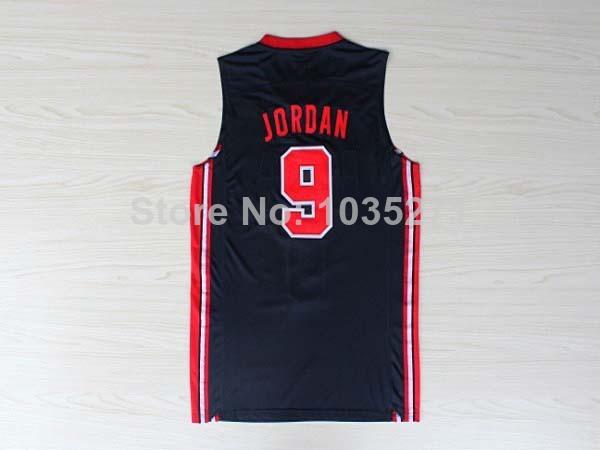 2014 New Style Basketball Jersey #9 Michael Jordan Jersey,1992 USA Olympic Games Basketball Jersey Low Price(China (Mainland))