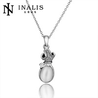 10pcs/lot N645  Wholesale Nickle Free Antiallergic 18K  Real Gold Plated Necklace pendants Jewelry For  Women