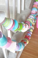 wholesale-free shipping Handmade Cupcake Party Garlands