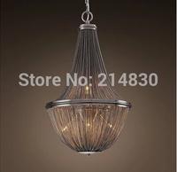 Free shipping Modern brief atlantis suspension aluminum chain lamp aluminum chain pendant light festivalthe lamp