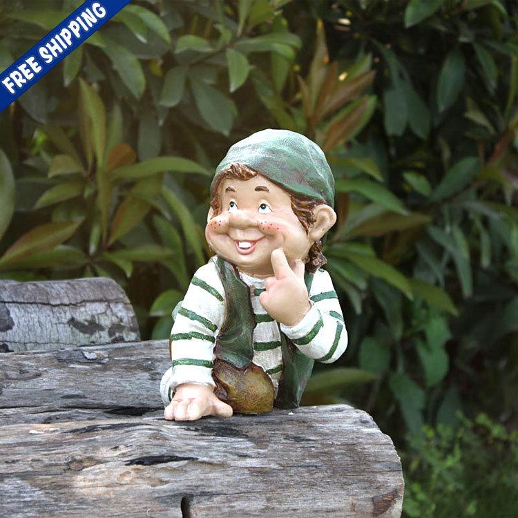Compra jard n figuras enanas online al por mayor de china - Disenar jardin online ...