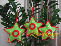 Handmade Christmas Tree Ornament Acrylic Crystal  Xmas Favor Favour Decor