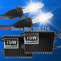 75W HID Xenon kit SUPER BRIGHT HID Xenon 75W H1 H3 H7 H8 H9 9005 9006 6000k Car Headlight Kit