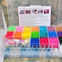 DIY Rubber Bands Loom bands Kit starburst Bracelets 4200pcs/set