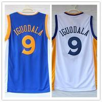 Free/Drop shipping #9  Andre Iguodala Jersey cheap Basketball Jerseys Embroidery Logos size S-XXXL Mix Order