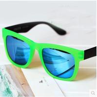 fashion steampunk Sunglasses men 2014 colorful Reflective hiphop sun glasses oculos original