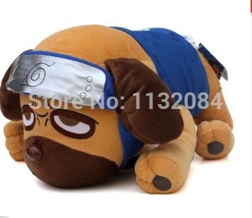 Free Shipping! Naruto Kakashi Papa Dog plush toy doll cute dog puppet doll birthday gift(China (Mainland))