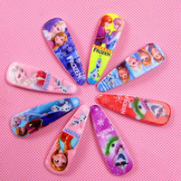 2014 Cheap Wholesale 5.4cm hair accessories frozen baby kid's hair clip wholesale 8 styles free shipping 140920