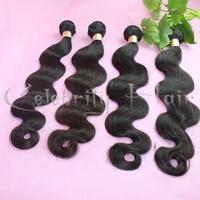 Cheap body wave100%brazilian virgin hair extension for fashion woman 8-32inch jet black