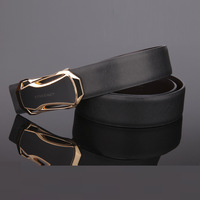 2014 [BECOLA]Hot sales black and white colors belts for men durable and Leisure mens belts luxury belt  BR-968