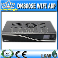 3pcs/lot  DM800se a8p wifi Sunray 800 hd se dvb s2  a8p Sim Card 300M Wifi dm 800hdse satellite rceiver Free Shipping