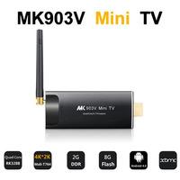 Free Shipping Ultra 4K*2K RK3288 Quad Core Cortex A17 Mali-T764 H.265 Android4.4 2G/8G HDMI Bluetooth Google TV Box XBMC Player