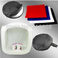Photo Studio soft box Shooting Tent Softbox Cube Box ,60 x 60cm/photo light tent+portable bag+ 4 Backdrops Free shipping
