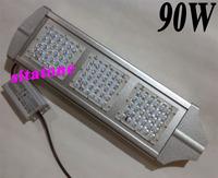 4pcs Free shipping AC85-265V 90W led street light IP65 Bridgelux 130-140LM/W LED 90*1w led street light 3 years warranty