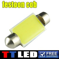 Maike.10x 12v festoon cob festoon led dome festoon cob 31mm/36mm/39mm/41mm 12V COB Auto Interior Light Lamps#TK120