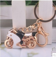 3D Creative gifts of men matel key chain 3d Motorcycles keychains wholesale fashion 3d key holder
