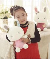 Birthday Valentines Gift Lovely Bunny Cartoon Rabbit Plush Toy High Quality Kid's Teddy Bear Doll Size 40cm
