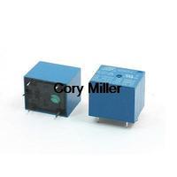 SRD-05VDC-SL-C DC 5V Rating Coil SPDT PCB Miniature Power Relay Blue