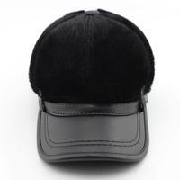 Newest 2015 Fashion Men Sea lion hair Caps Mens Baseball cap Winter warm hat Big Size Free Shipping