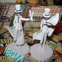 2 pcs/set Conan Kaitou Kid PVC Action Figure toys Japanese anime figures Free shipping