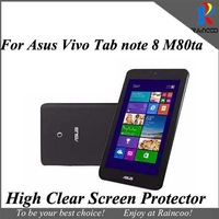 10pcs/lot High clear screen protector for Asus vivo tab note 8 m80ta,screen protective film cover for asus m80ta,free ship