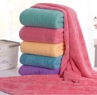 Free Shipping 70x140cm Absorbent Microfiber Bath Beach Towel Drying Washcloth Swimwear Shower HT24