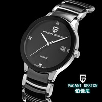 Pagani Design brand stainless steel quartz watch neutral luxury business and leisure table