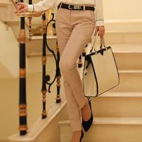 OVO!High quality fashion 2014 Han edition OL style for autumn&winter long pants elastic slim pencil pants women pantssizeS-XXXL