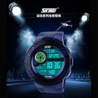 Fashion SKMEI LED Digital Watch Mens Quartz Wrist Wristwatches Relogio Masculino Military Wristwatch LED Casual Sports Watches