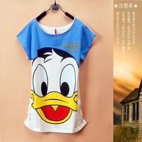 Ladies Fashion shirts Multi Design TShirt Women tees women type T-shirts Women's Printed T Shirts 2014 New CHIC! W4393