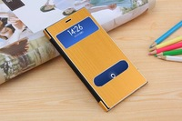 High quality  Luxury Ultra Thin metal leather case for xiaomi mi3 m3, 10 colors, free shipping