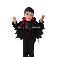 2014 Hot sale high quanlity New Halloween vampire halloween costumes for kids boys 3 pcs sets 6 sets lot