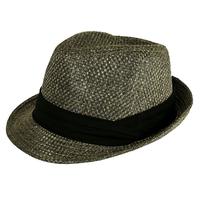 2014 Church Hats Fedoras  Men's Trilby Women's Sun Hat 100% Linen Tea Party King Size Plus Size Hat  Christmas Gift 5 Sizes
