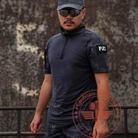 Rattlesnake Tactical  Combat Airsoft Paintball Short  Sleeve T Shirt Hunting Fishing Tops