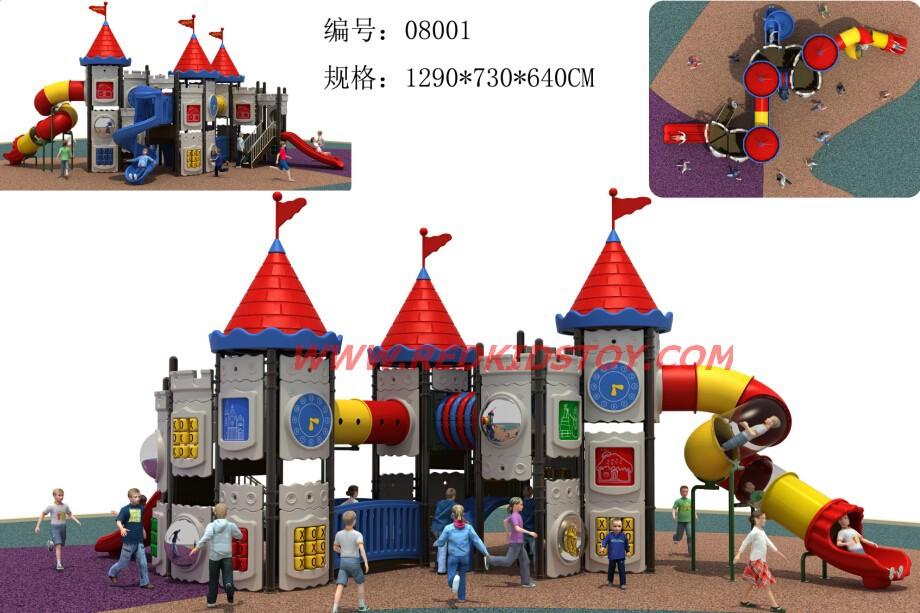 2014 gigante de diversões ao ar livre Sistema Play Park / Castelo de recreio ao ar livre / Kids Tunnel Visible One-stop serviço de qualidade superior(China (Mainland))