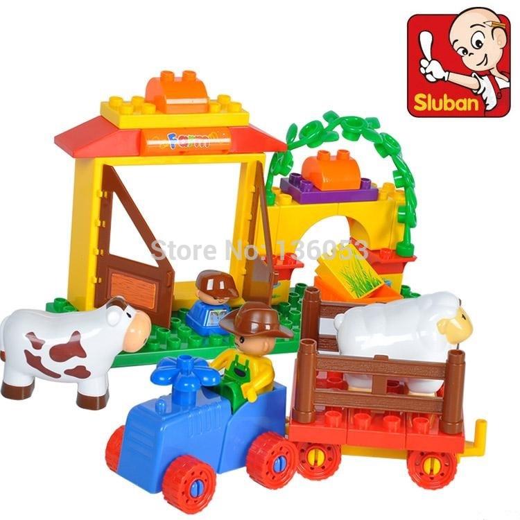 2014 Assembly Building mega Blocks bricks kids toys DIY bady toys for Children compatible(China (Mainland))