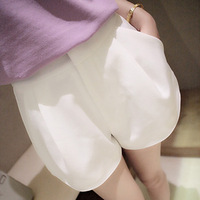 igh waisted all-match candy colored shorts something with a pin high-end women's College of wind Taobao explosion models