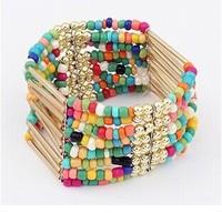 2014 New Popular Bohemian flow Sumi Tassel Bead Bracelet Bangles