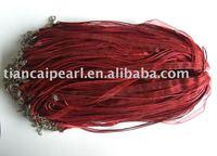 silk Organza Ribbon Necklace Strap Cord Chain