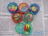 2PC Plastic BOB Herb Tobacco Grinder Smoke Crusher hand Muller Assorted Free Shipping 12pcs/lot GR152