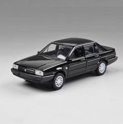 1/36 Welly WARRIOR Die-casts metal models VW Santana Black Christmas Gift(China (Mainland))