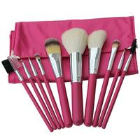 10 Pcs Professional Makeup Brushes Set kabuki Make up Brushes Kit Free Draw String Makeup Bag maquillaje maquiagem Maquillage