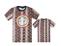 2015 brand fashion element skateboard streetwear cotton men t-shirt tops & tees short sleeve casual t shirt element