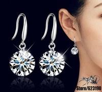 925 sterling silver earrings , 925 silver fashion jewelry , 8MM 10MM /bhaajyha cxialopa E153