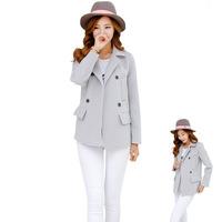 2014 casacos femininos coat age same paragraph big code female woolen section korean